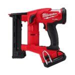 "Milwaukee M18 Fuel 18ga 1/4"" Narrow Crown Stapler 2749-20 2749-21CT"