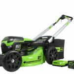 New Greenworks Pro 60V Brushless 16″ String Trimmer / 21″ Self Propelled Mower / Blower / 16″ Chainsaw