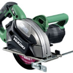 "Hikoki (Metabo HPT) MultiVolt CD3607DA 36V 185mm (7-1/4"") Metal Cutting Circular Saw Spotted"