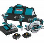 Expired Deal – Makita 18V 3 PC Brushless Combo Kit 4.0Ah 2.0Ah XT333X1 $199.99