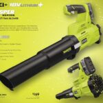 Ryobi Whisper Series Brushless Jet Fan Blower Models in 40V RY40470VNM & 18V P21100VNM