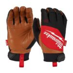 Milwaukee Expands Glove Lineup with Leather Performance Gloves