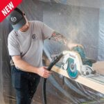 "Makita X2 XSH10Z 9‑1/4"" Brushless Circular Saw with Guide Rail Compatible Base & AWS Capable"