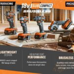 Ridgid 18V Subcompact Brushless Power Tools – They're Tiny!
