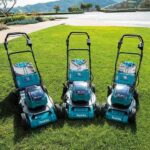 3 New Makita X2 36V Brushless Lawn Mowers in 21″ & 18″ XML06, XML07, XML08