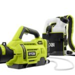 Ryobi Battles COVID-19 With 3 New 18V Cordless Electrostatic Sprayers & 1 Regular Sprayer