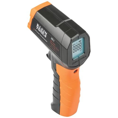 Klein Tools Infrared Digital Thermometer with Targeting Laser 10:1 IR1