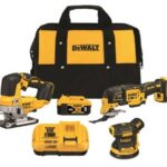 Deal – Dewalt DCK300P1 3pc Brushless Kit w/ Jigsaw MultiTool Sander & 5.0Bat $299!