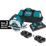 Deal – Makita X2 (36V) Brushless Circular Saw Kit w/Dual Charger + 4x 5.0ah Batteries $249!