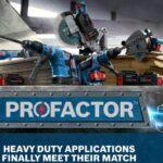 Bosch Announces PROFACTOR – High Performance 18V Power Tools