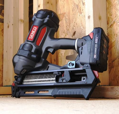 Senco F-35FRHXP 18V Battery Powered Framing Nailer Shoots Full Head Nails