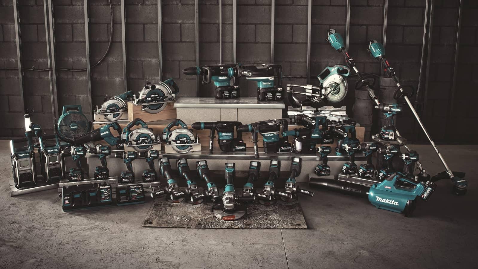 New Makita XGT 40V / 80V Max Cordless Power Tool Line Officially Announced