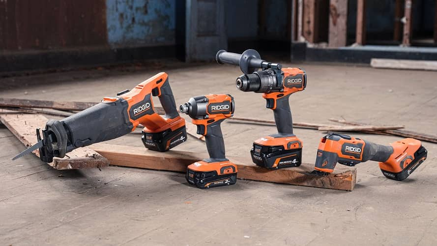 New Ridgid 18V Brushless Power Tools!