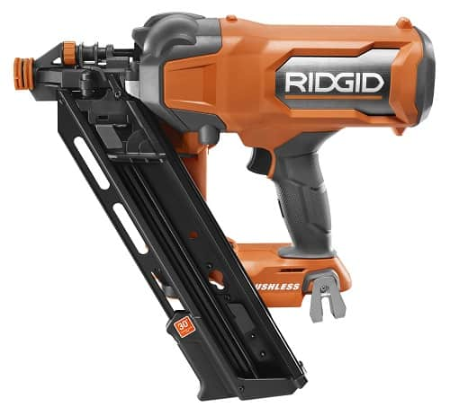New Ridgid 18V Brushless Framing and 18 Gauge Nailers & Brushed Grease Gun
