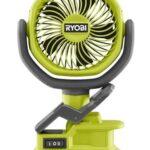 Ryobi 18V 4″ Clamp Fan PCF02 PCF02B