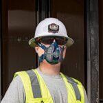 Klein Tools P100 Half Mask Respirators 60244 60246