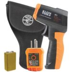 Klein Tools Infrared Thermometer with GFCI Receptacle Tester Kit IR1KIT